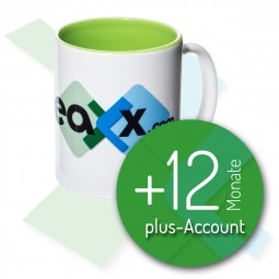 fotoleaxx®-plus-Account +12 Monate inkl. Sammeltasse Nr. 1